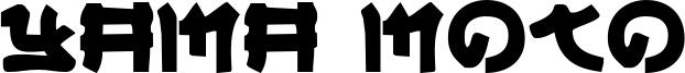 Yama Moto Font