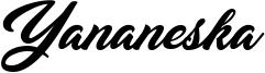 Yananeska Font