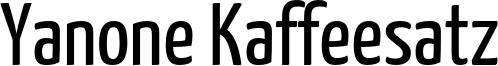 YanoneKaffeesatz-Regular.otf