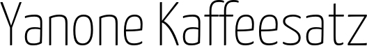 YanoneKaffeesatz-Thin.otf