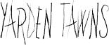 Yarden Tawns Font
