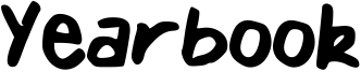 Yearbook Font
