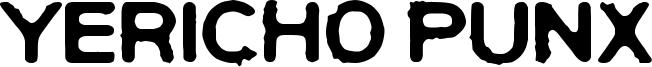 Yericho Punx Font
