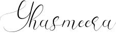 Yhasmeera Font