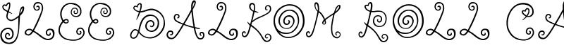 Ylee Dalkom Roll Cake Font