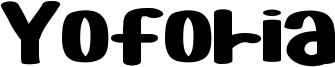 Yoforia Font