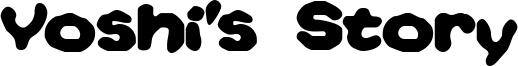 Yoshi's Story Font