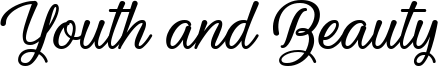 Youth and Beauty Font