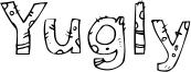 Yugly Font