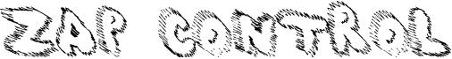 Zap Control Font