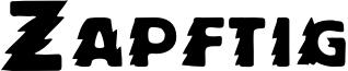 Zapftig Font