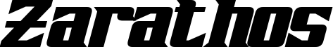 Zarathos Bold Italic.otf