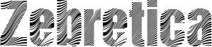 Zebretica Font