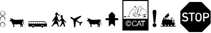 Zeichen Alt Font