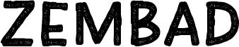 Zembad Font