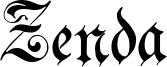 Zenda Font