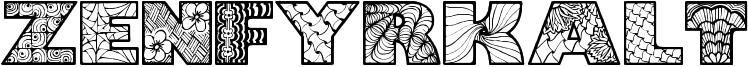 Zenfyrkalt Font