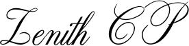 Zenith CP Font