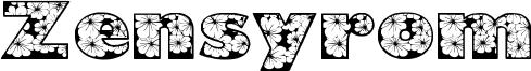 Zensyrom Font