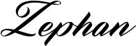 Zephan Font