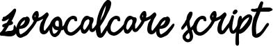 Zerocalcare Script Bold.ttf
