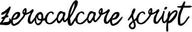Zerocalcare Script Font