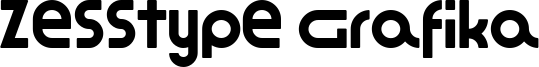 Zesstype Grafika Font