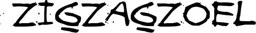Zigzagzoel Font