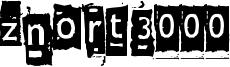 Znort3000 Font