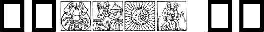 Zodiac 03 Font