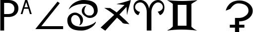 Zodiac S Font