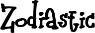Zodiastic Font