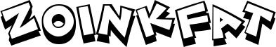 ZoinkFat Font