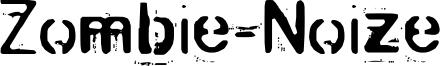 Zombie-Noize Font