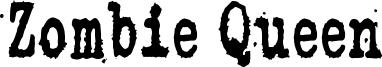 Zombie Queen Font