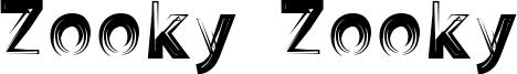 Zooky Zooky Font