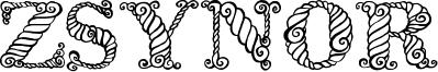 Zsynor Font