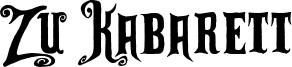 Zu Kabarett Font