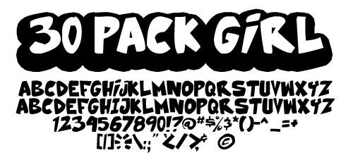 30 Pack Girl