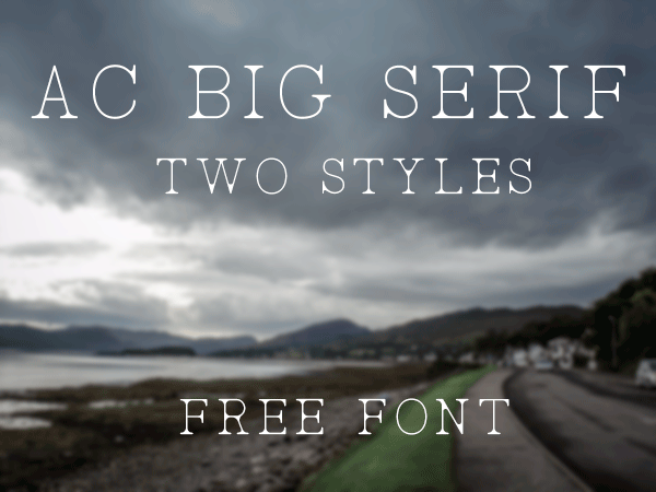 AC Big Serif