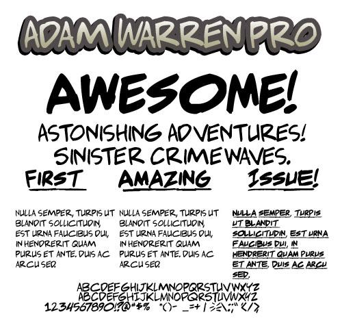 Adam Warren Pro