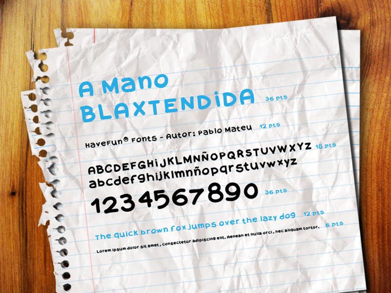 A Mano Blaxtendida