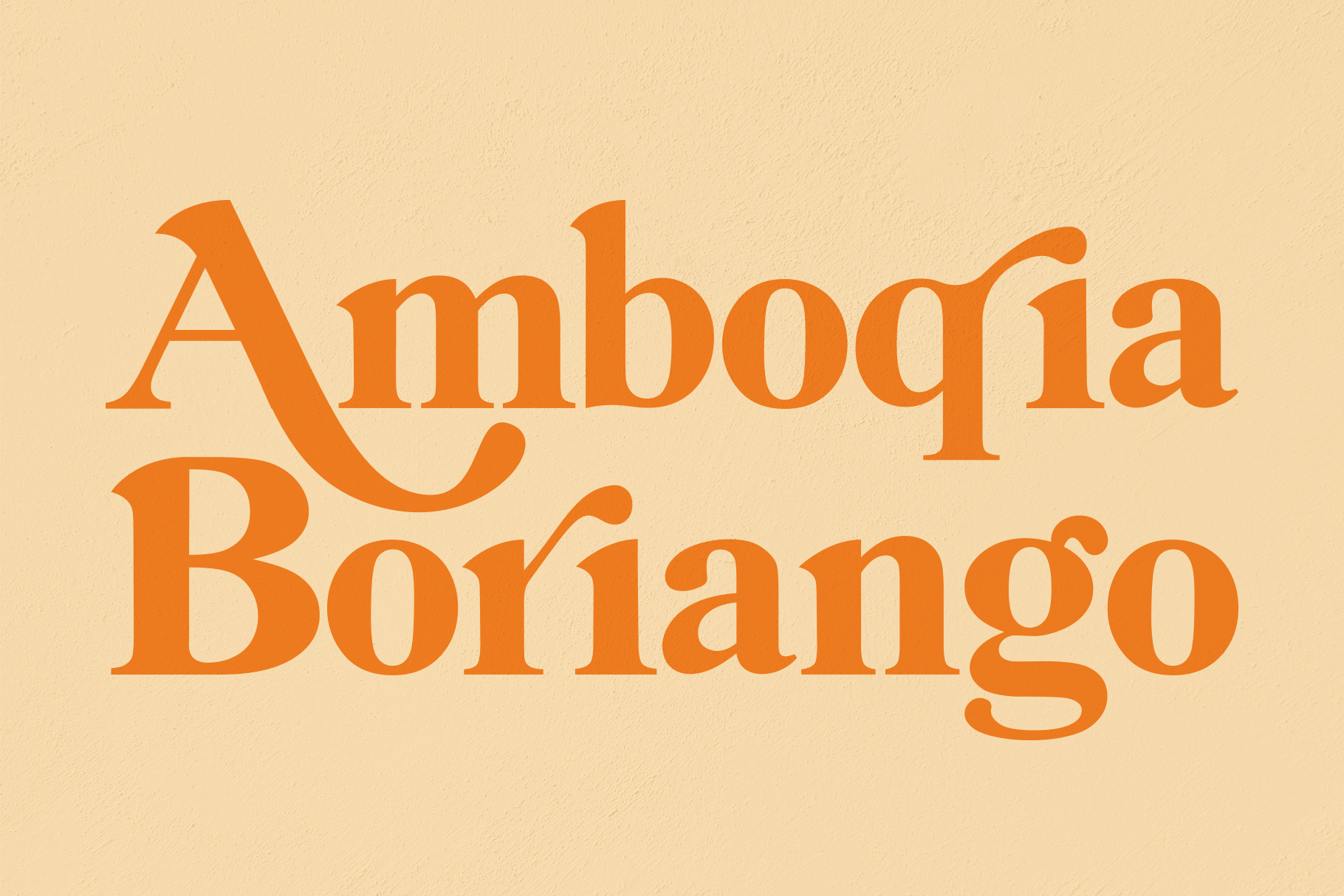 Amboqia Boriango