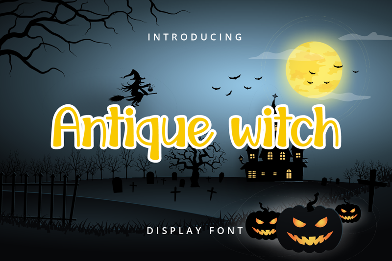 Antique Witch