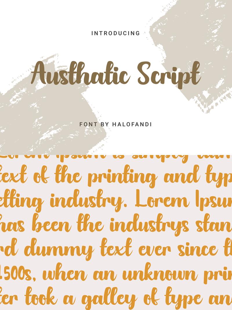 Austhatic Script