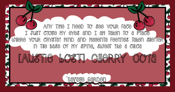 Austie Bost Cherry Cola