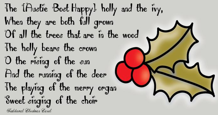 Austie Bost Happy Holly