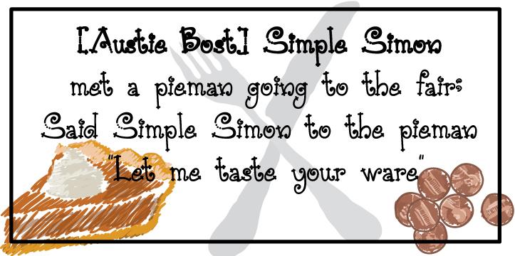 Austie Bost Simple Simon