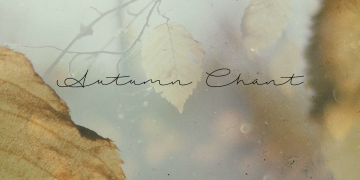 Autumn Chant