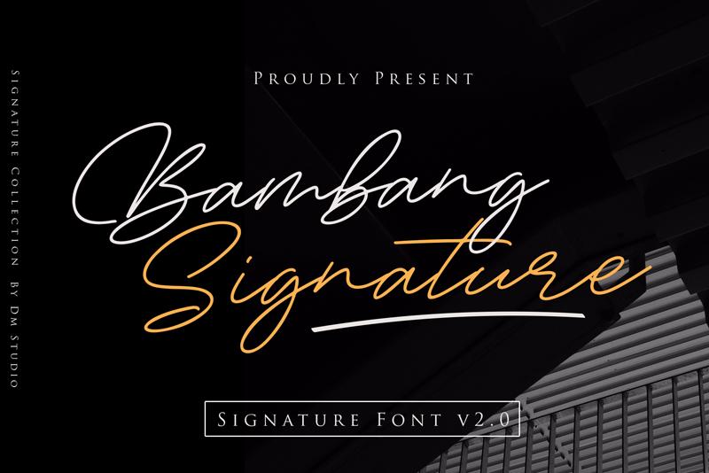 Bambang Signature